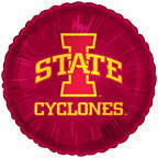 "18"" Collegiate Football Iowa State Round"