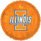 "18"" Collegiate Football University Of Illinois"