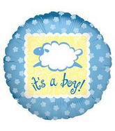 "18"" Baby Boy Baa Baa It&#39s A Boy"