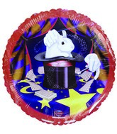 "18"" Magic Hat Bunny Trick Birthday Balloon"