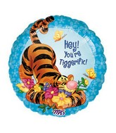 "18"" You&#39re Tiggerigfic Disney Licensed Balloon"