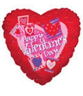 "9"" Airfill Valentine&#39s Day Heart Pictures"