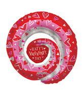 "36"" Happy Valentine&#39s Day Spiral Balloon"