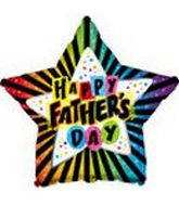 "18"" Happy Father&#39s Day Bright Star"