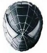 27&#39&#39 Spiderman Face Black Balloon
