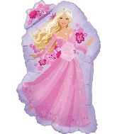 "32"" Perennial Barbie Princess Balloon"