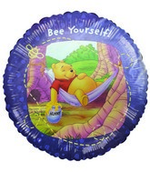 "18"" Bee Yourself Disney Licensed Pooh Bear Mylar Balloon"