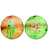 "18"" Disney&#39s Dinosaur Licensed Mylar Balloon"