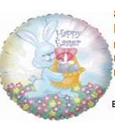 "9"" Easter Bunny Basket M323"