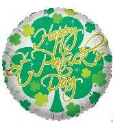 "18"" Happy St. Patrick White"