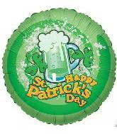 "18"" Happy St. Patricks Beer"