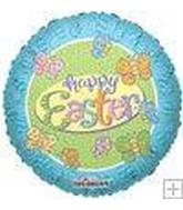 "18"" Happy Easter Butterflies Balloon"
