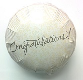 "18"" Congratulations filigree Balloon"