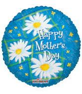 "4"" Airfill Mother&#39s Day Daisies Balloon"