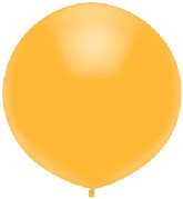 "17"" Outdoor Display Balloons (72 Count) Radiant Gold"