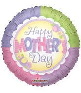 "9"" Arifill Happy Mother&#39S Day Pastel Flowers"