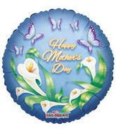 "18"" Calla Lily Happy Mother&#39s Day Balloon"