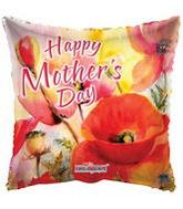 "18"" Happy Mother&#39s Day Orange Balloon"