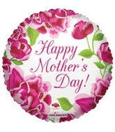 "36"" Happy Mother&#39s Day Classic Roses Balloon"