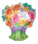 "28"" Happy Mother'S Day Rose Bouquet Shape"
