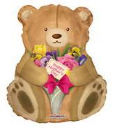 "36"" Happy Mother&#39s Day Cuddly Teddy"