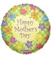 "18"" Happy Mother&#39s Day Lattice Balloon"