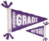 "31"" Purple Pennant Balloon"