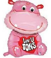 35&#39&#39 Love You Tons Hippo