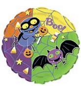 "18"" Boo! Bat & Spider Balloon"