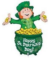 "40"" St Patrick&#39s Day Lucky Leprechaun"
