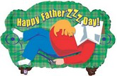 "33"" Dad On Couch Balloon (Sold Slightly Damaged)"