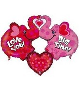 "47"" Big Time Love Elephant Balloon"