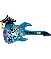 "45"" You Rock Grad Guitar Balloon"