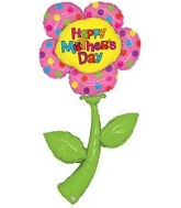 "72"" Super Shape H.M.D Flower Mylar Balloon"