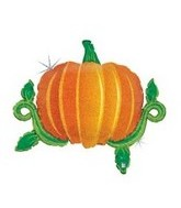 "36"" Holographic Linky Pumpkin Balloon"