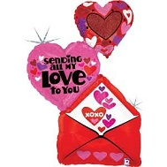 "41"" Sending My Love Envelope"