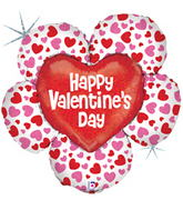 "38"" Jumbo Big Flower Valentine Balloon"