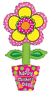 "45"" Happy Mother&#39s Day Flower Pot"