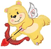 "42"" Cupid Bear Balloon"