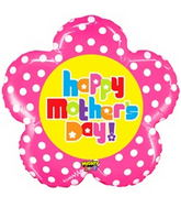 "30"" Mighty Bright Mother&#39s Day Flower Balloon"