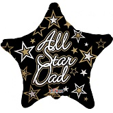 "18"" ALL STAR DAD"