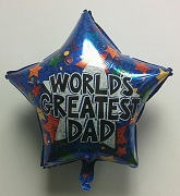 "18"" World&#39s Greatest Dad Star"