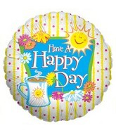 "18"" Have a Happy Day Balloon"