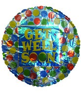 "18"" Get Well Soon Wafers"