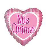 "18"" Mis Quince Hispanic Balloon"
