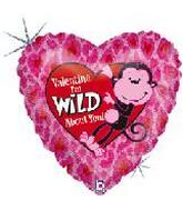 "18"" Valentine&#39s Day I&#39m Wild About You"