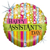 "18"" Assistant&#39s Day Fashion Balloon"