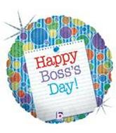 "18"" Boss&#39s Day Note Holographic (B21)"