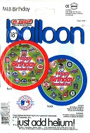 "18"" Major League Baseball Balloons Birthday"