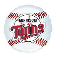 "18"" MLB BaseBall Balloon Minnesota Twins"
